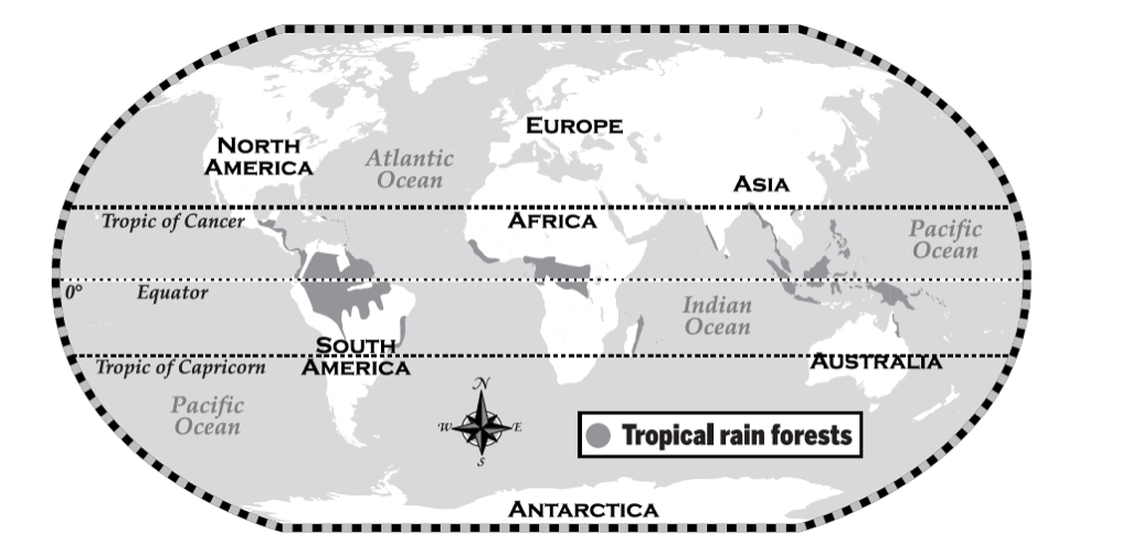 Climate Zone Map Of Asia.Climate Climate Zones Tropical Rainforests